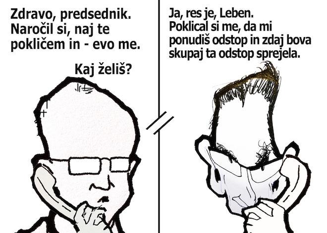 [Karikatura] Odstop