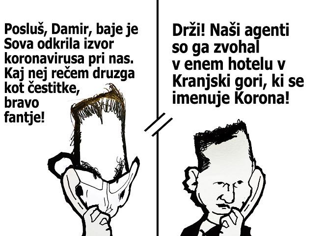 [Karikatura] Sova virus