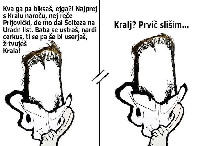 [Karikatura] Šarc kliče Šarca