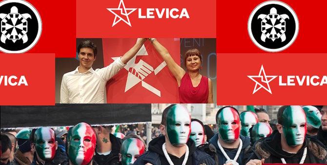 """[Razkrivamo] Dosje ekstremisti, 1. del: Stranka Levica je programsko bližje italijanskim neofašistom kot """"janšistična"""" SDS!"""