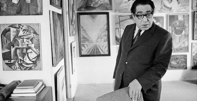 [Komentar] Goerge Costakis je kupoval za človeštvo neskončno pomembne umetnine, ki niso imele nobenega trga, kaj šele cene