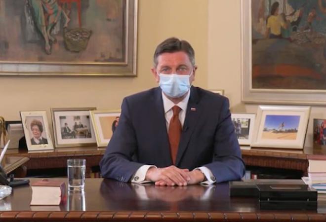 """[Opazili smo] Predsednik Pahor: """"Prosim vas, poiščimo zdaj v sebi to notranjo moč"""""""