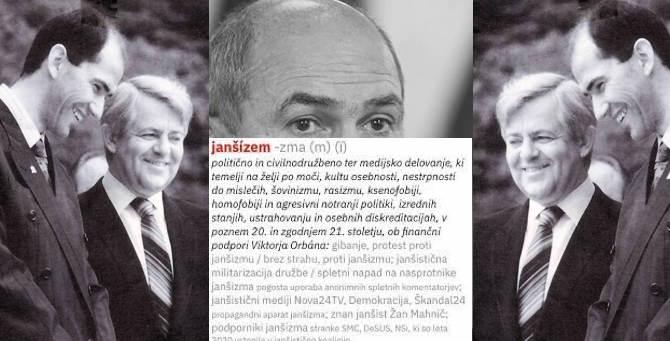"""[Komentar] Pismo o janšizmu: Slovenske družbe si niso mogli podrediti niti fašisti niti komunisti, kako naj bi si jo zdaj """"janšisti""""?!"""