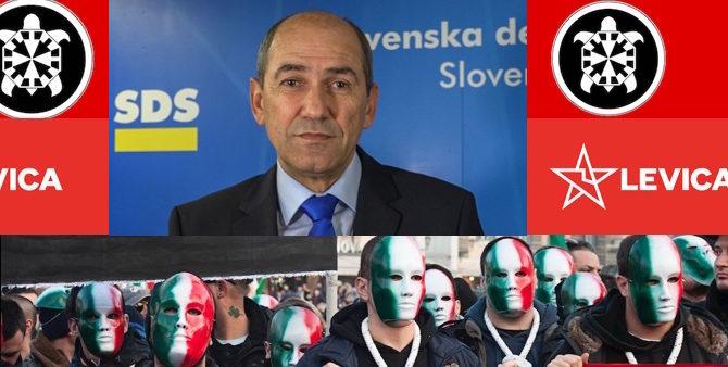 [Razkrivamo] Dosje ekstremisti, 3. del: Zakaj bi nas morale podobnosti med Levico in italijansko skrajno desnico CasaPound skrbeti